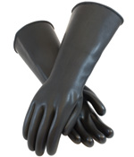 Heavy Duty Unsupported Latex Gloves