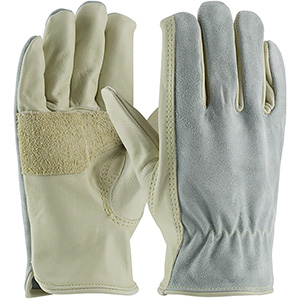 Leather Anti-Vibration Gloves