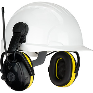 hard hat mounted ear muff