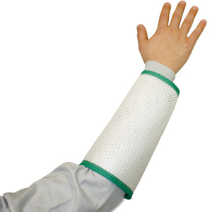 White Cane Mesh Sleeves