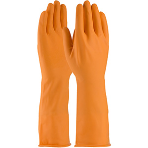 Extra Long Orange Acid Glove