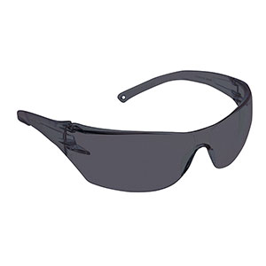 Dynamic Safety EP250BS Thunder Black Safety Spectacles with Smoke Lens