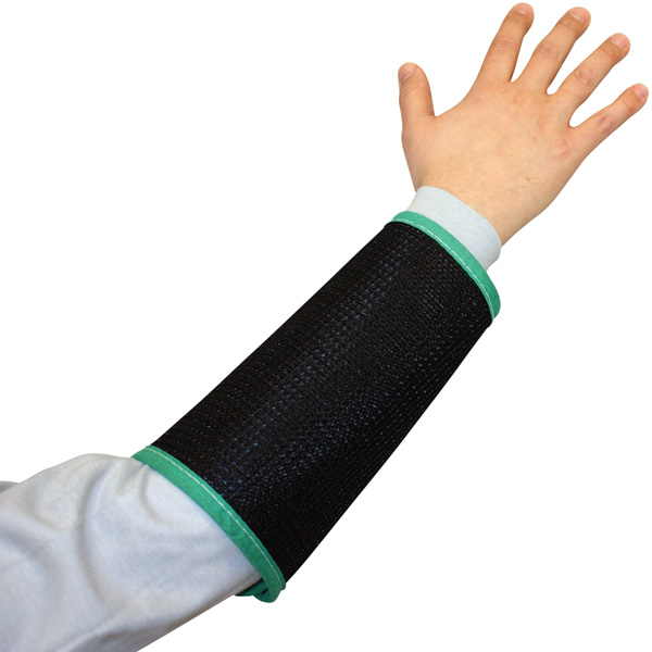 Black Cane Mesh Sleeves